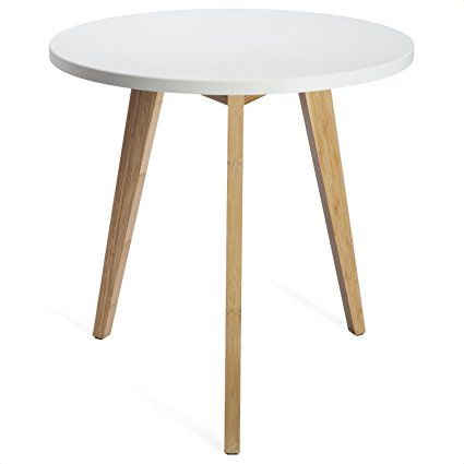 Three Legged Bamboo End Table From STNDRD. U2022 Modern Round Coffee Table U2022  Real Bamboo