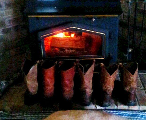 Cowboy warmth!