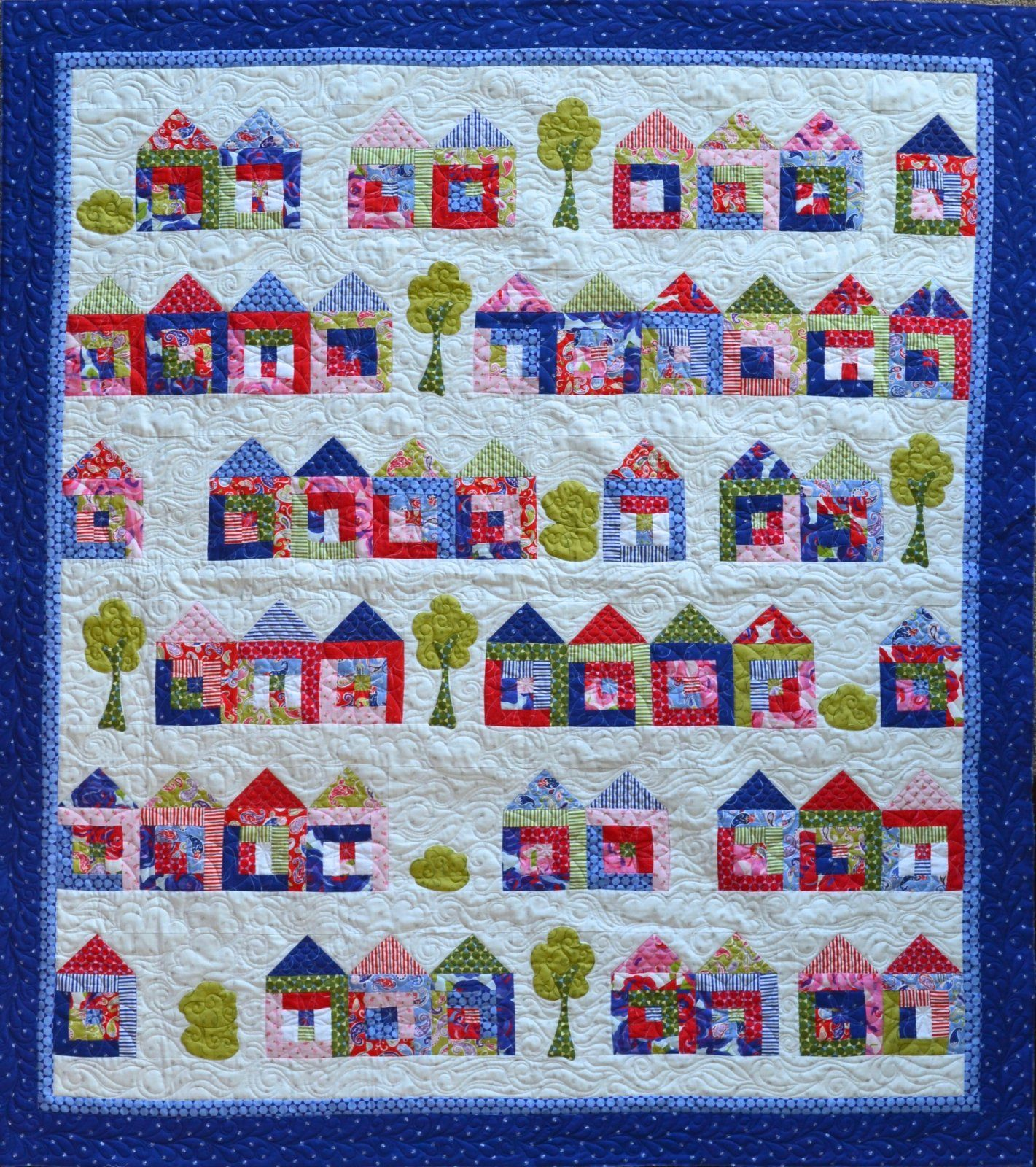 Tiny House Craze Quilt At Jillily Studio House Quilt
