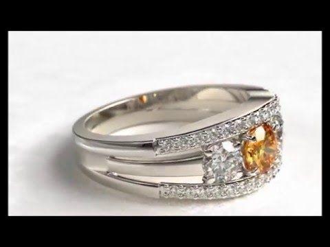 De Vindt Maxima Orange Diamond Ring - YouTube