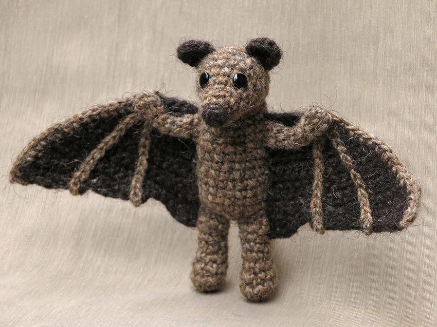 crochet bat wings - Google Search | amigurumi | Pinterest | Bat ...
