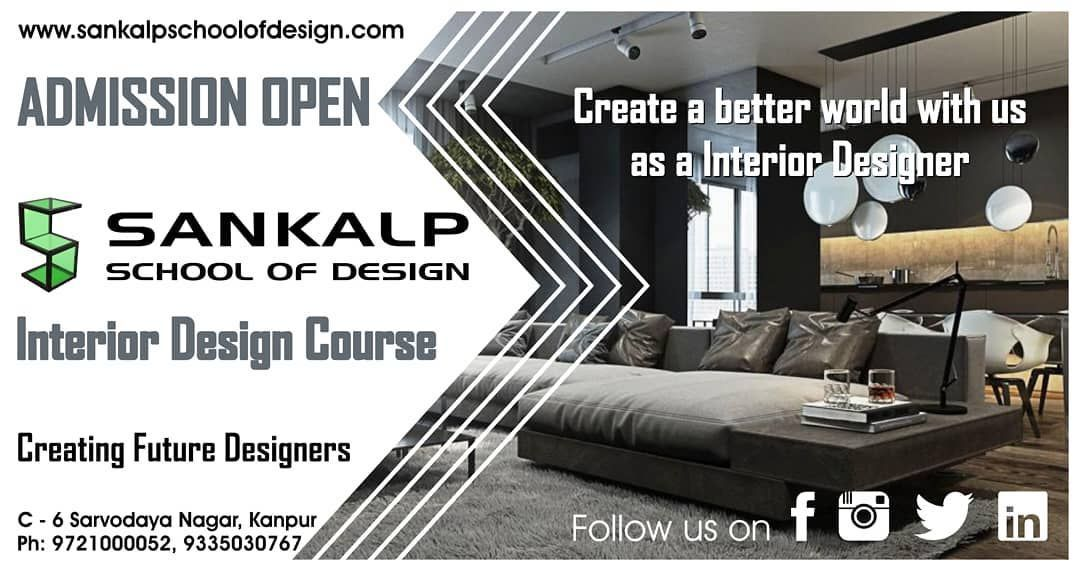 Sankalp School Of Design Offering Interior Designing Course In