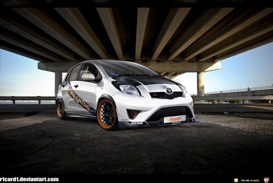 toyota yaris trd turbo grand new veloz 1300 jdm style | stuff toyota, cars,