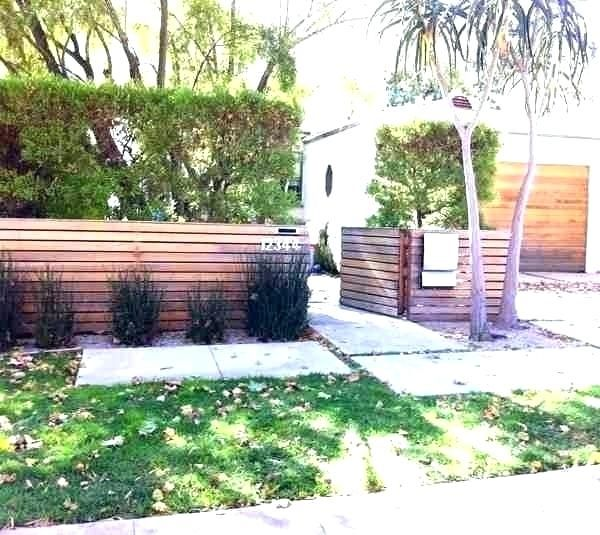 46+ Modern Front Yard Privacy Fence