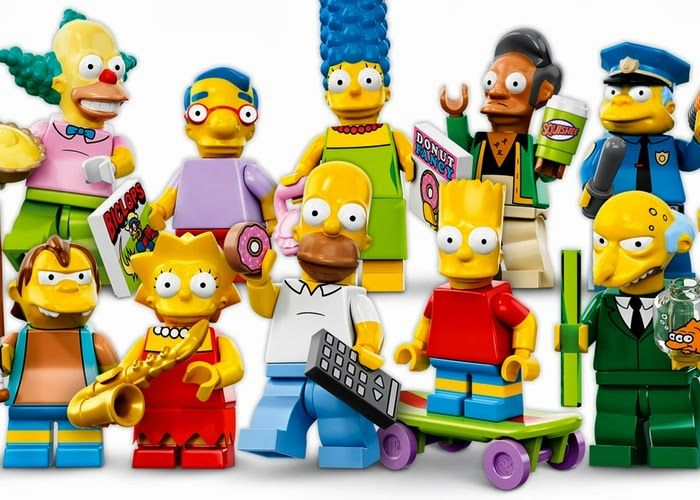 16 New Lego Simpsons Minifigures For 25th Anniversary