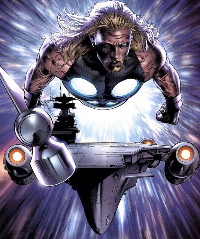 Ultimate Thor And The SHIELD Helicarrier