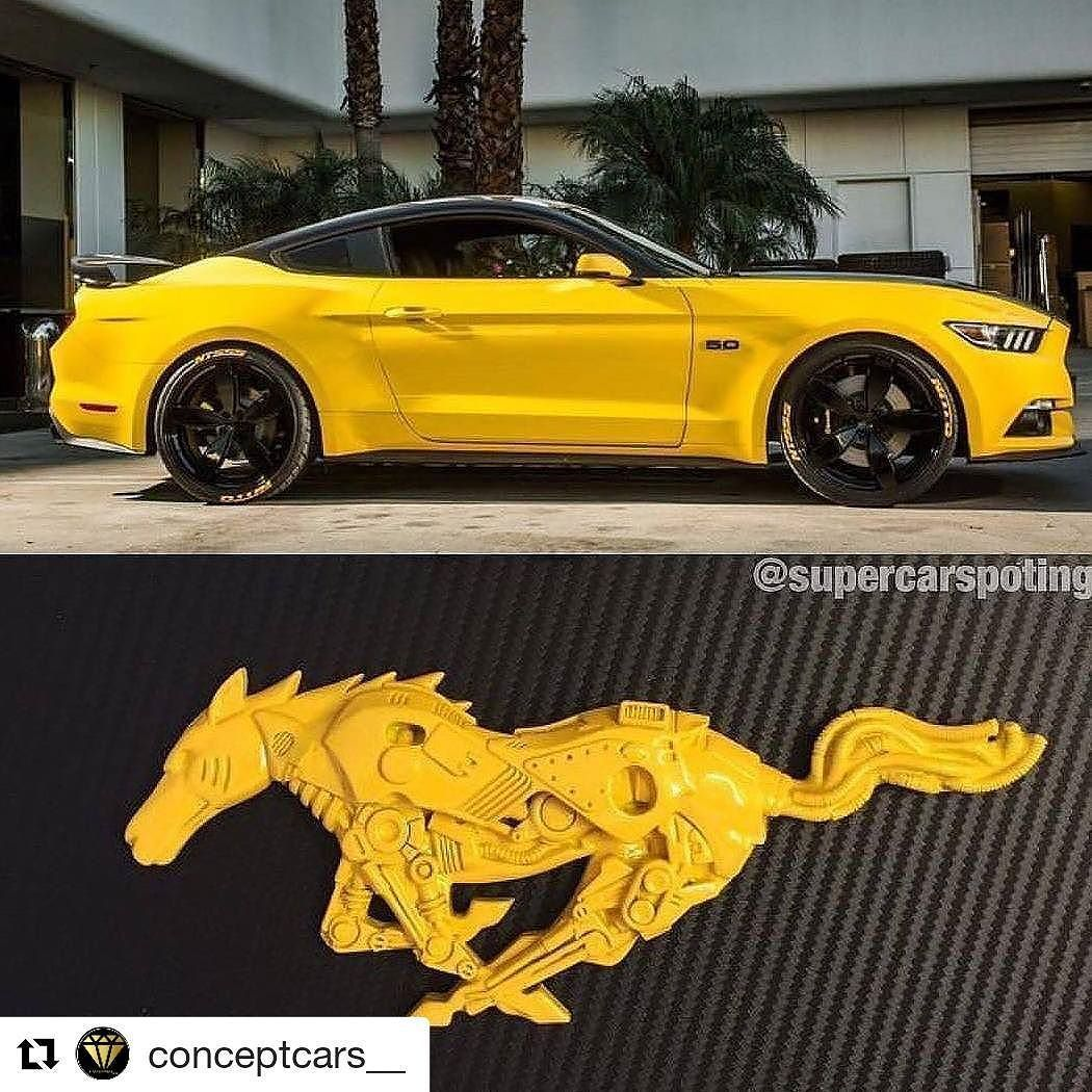 Classic Cars, Yellow Mustang, Mustang Cars