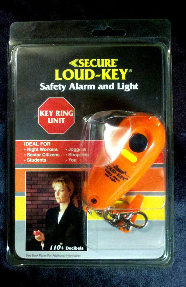Student, jogger, working night shift? LOUDKEY SAFETY