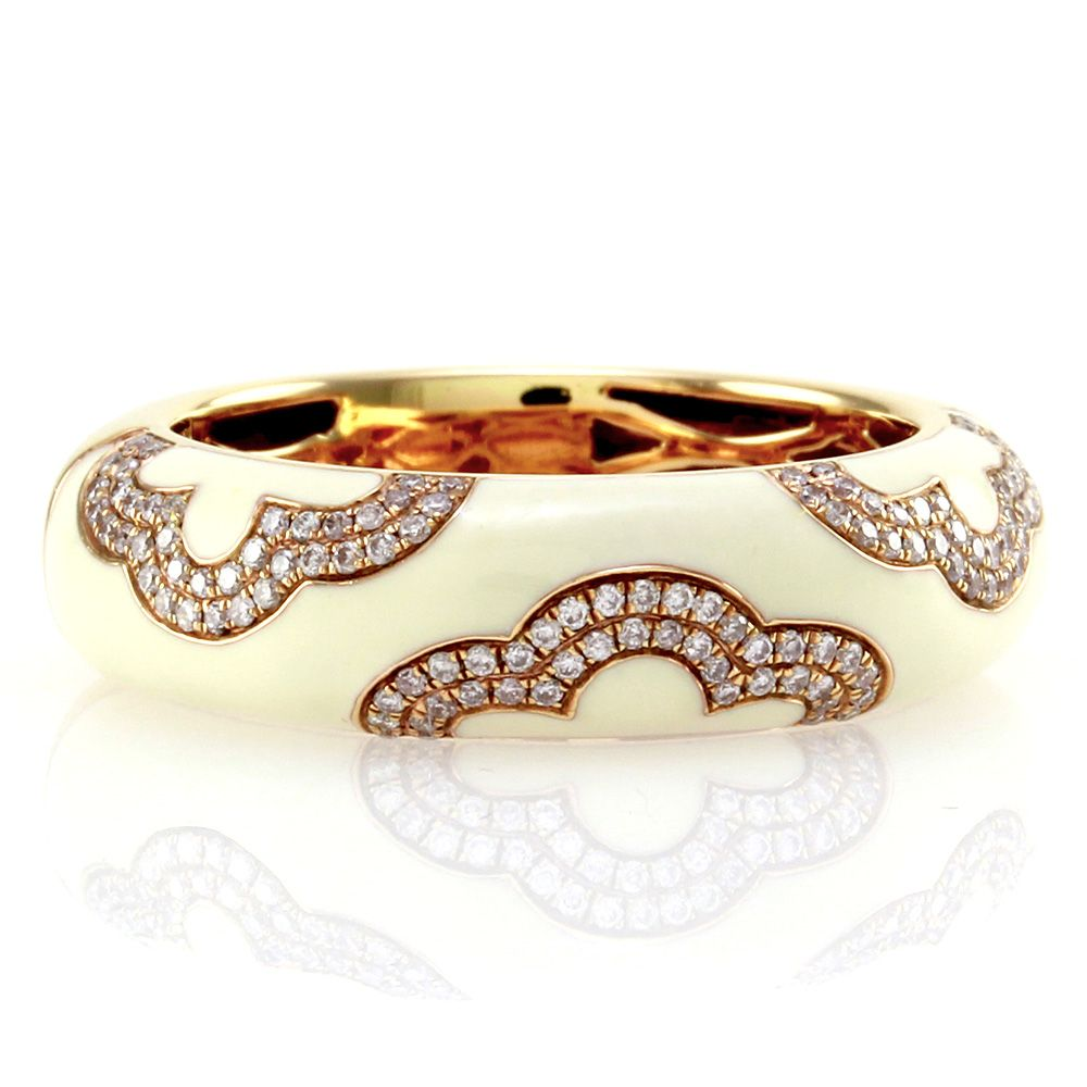 Hidalgo-Diamond-Micro-Pave-Enamel-Band-18K-Rose-Gold