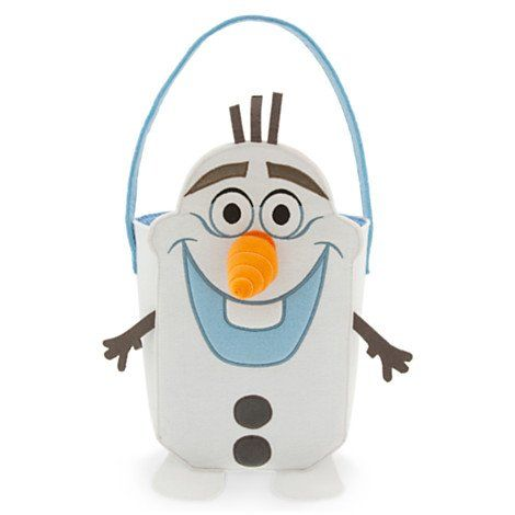 Disney Frozen Snowman Olaf Trick or Treat Bag for Halloween - frozen halloween decorations