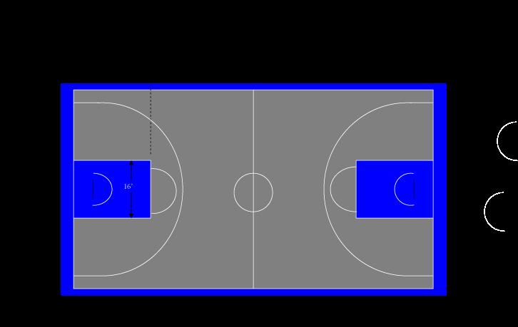 Court Layouts Basketball Court Backyard Backyard Basketball
