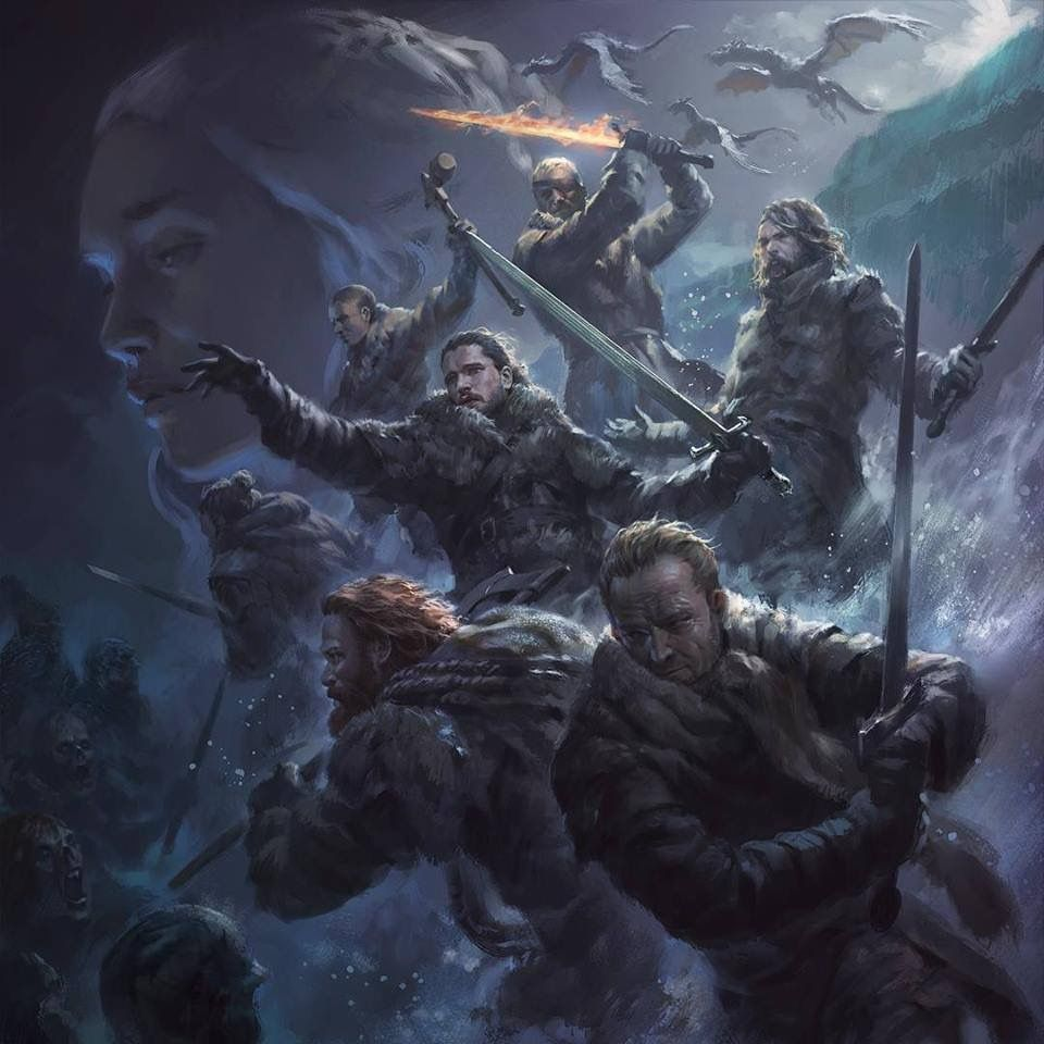 Beyond The Wall 7x6 Game Of Thrones Game Of Thrones Poster A