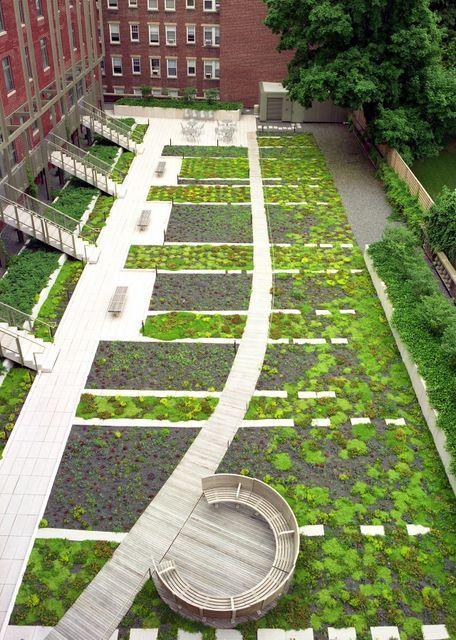 Harvard University 29 Garden Street American Hydrotech Inc Landscape Architecture Design Landscape Plans Landscape Design