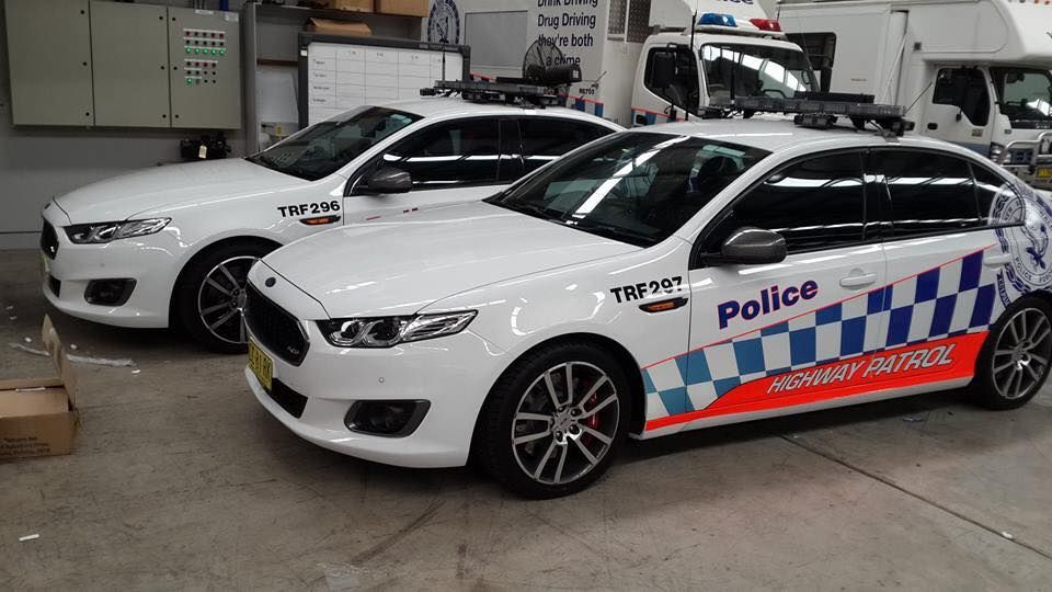 Falcon Fgx Xr6 Turbo Nsw Highway Patrol Ford Falcon Police Ford