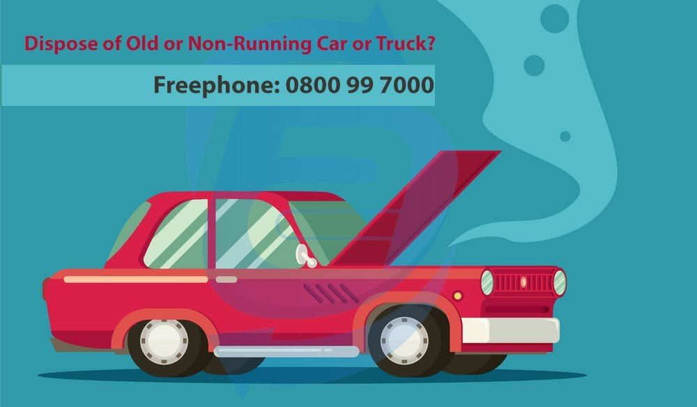 How to dispose of an old car or a nonrunning vehicle