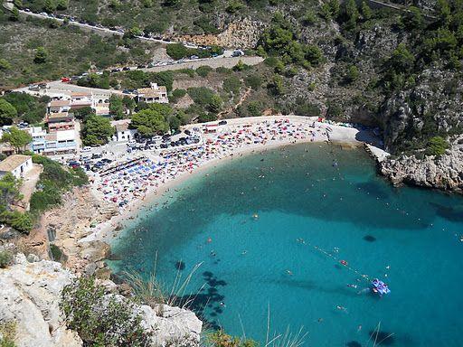 4 Calas De Jávea Para Disfrutar Del Snorkel Spanje Vakantiebestemmingen Thuis