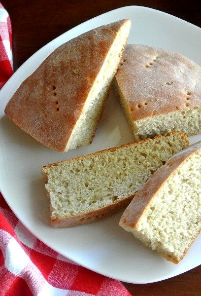 Sage Dill Bread -  The dough has a generous addition of sage along with dill and fennel which really makes a tasty bread.