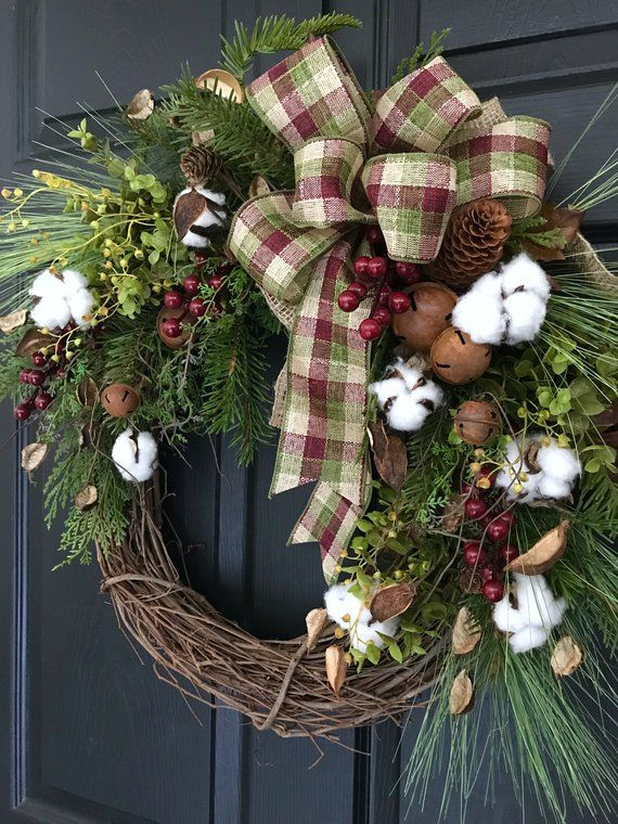 Pine And Eucalyptus Wreath
