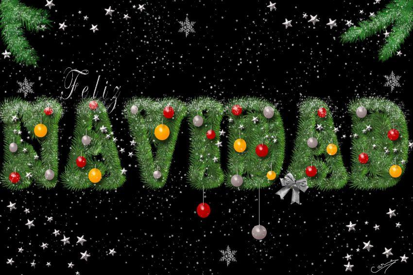 Christmas Tree Font Photoshop Tutorial Tree Photoshop Photoshop Tutorial Creative Text