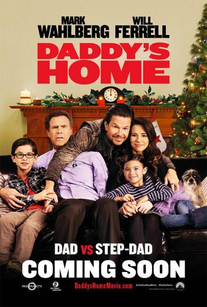 Daddy's Home (2016) COMMEDIA – DURATA 96′ – USA Un mite produttore radiofonico si sforza di diventare il miglior patrigno del mondo per i due figli della moglie. La situazione è però complicata dall'ex marito della donna, che con il suo arrivo scatena una gara per l'affetto dei piccoli…