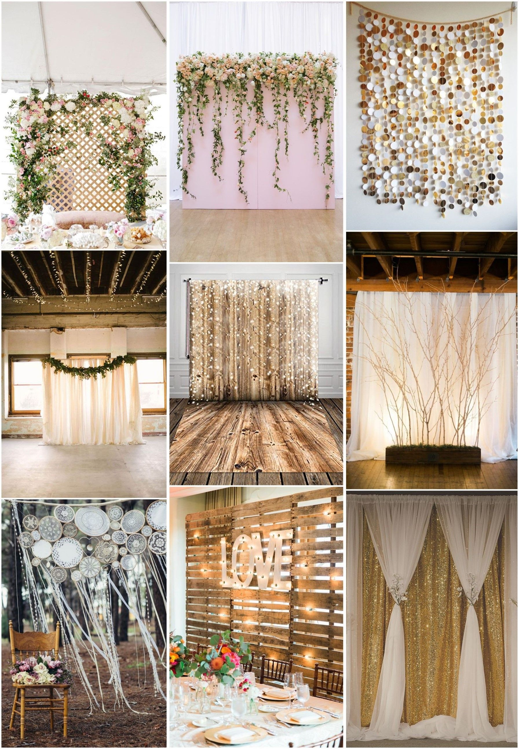 30 Unique And Breathtaking Wedding Backdrop Ideas Weddinginclude Wedding Backdrop Breathtaking Wedding Backdrops