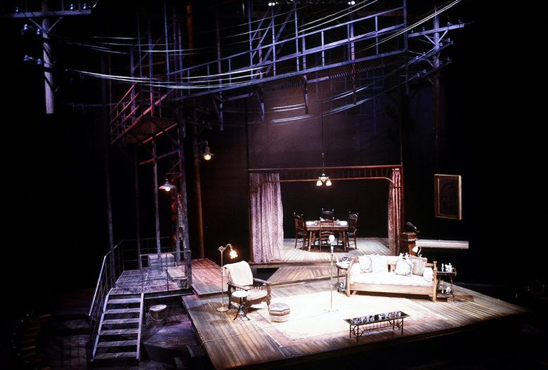 Image Detail Shortt Set Design Theatre The Glass Menagerie Set Design