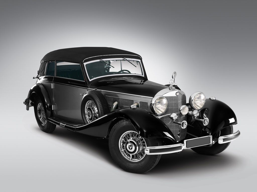 1938 mercedes benz 540k cabriolet b