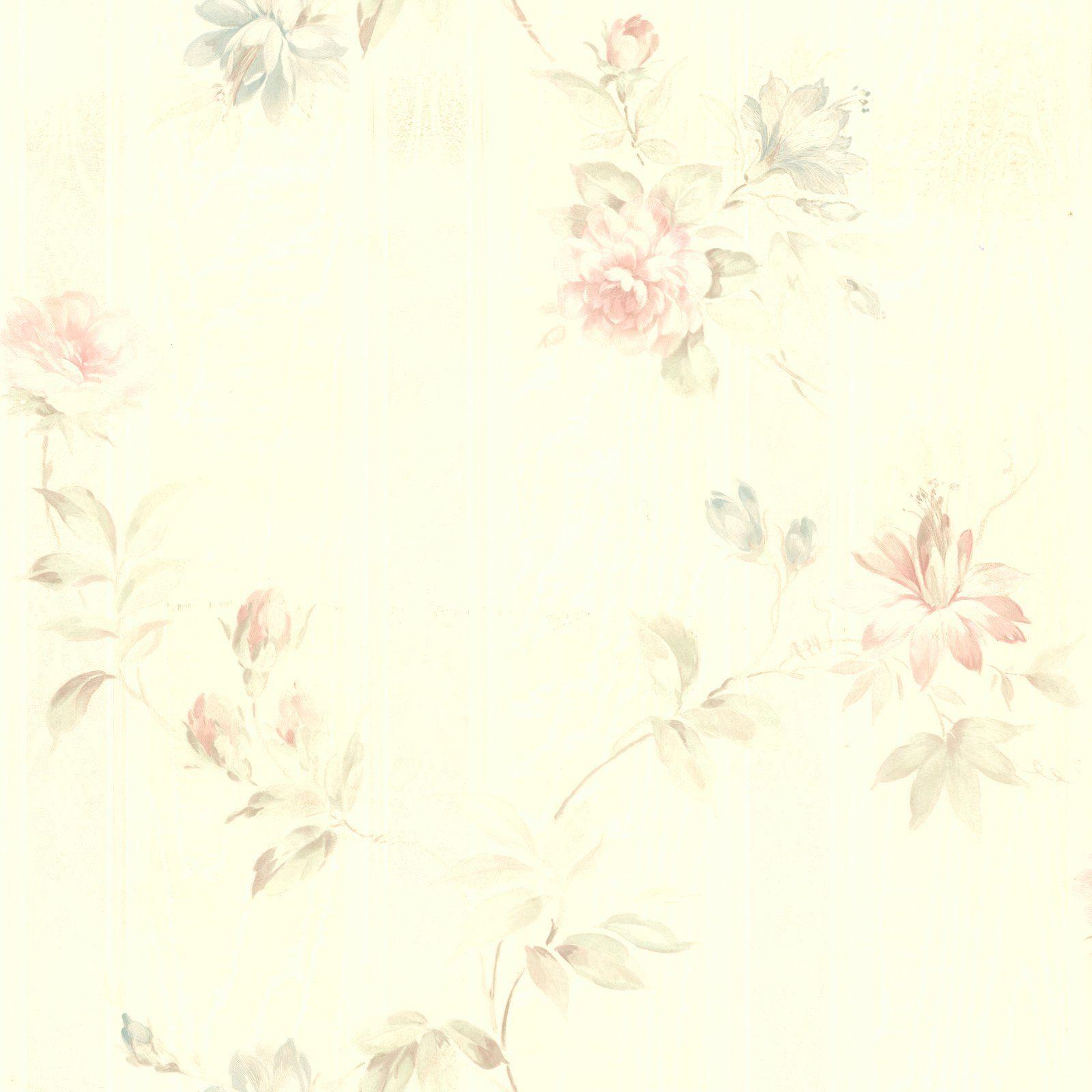 Brewster Josey Floral Wallpaper Floral Print Wallpaper Floral