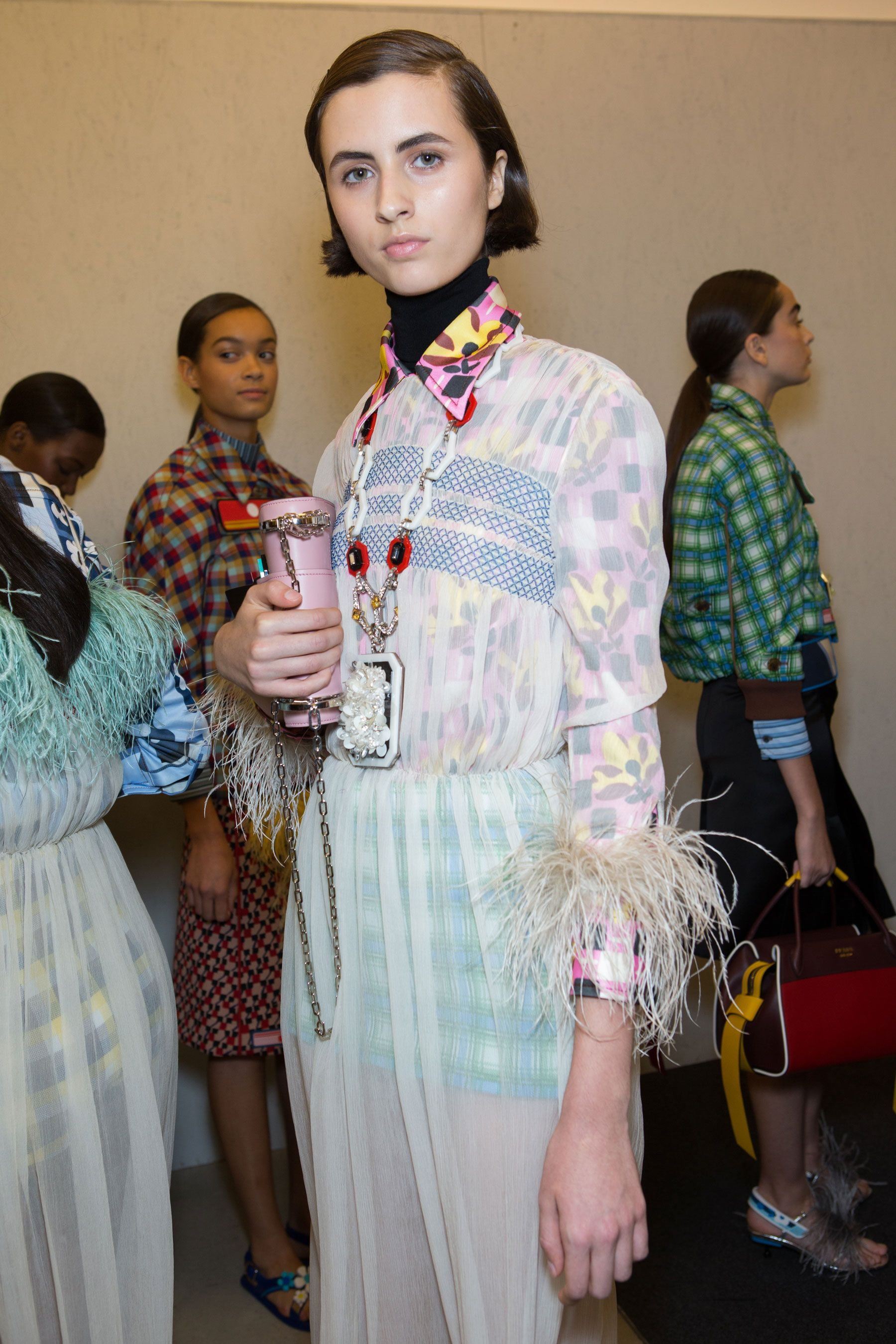 Prada | Spring 2017 Backstage – The Impression