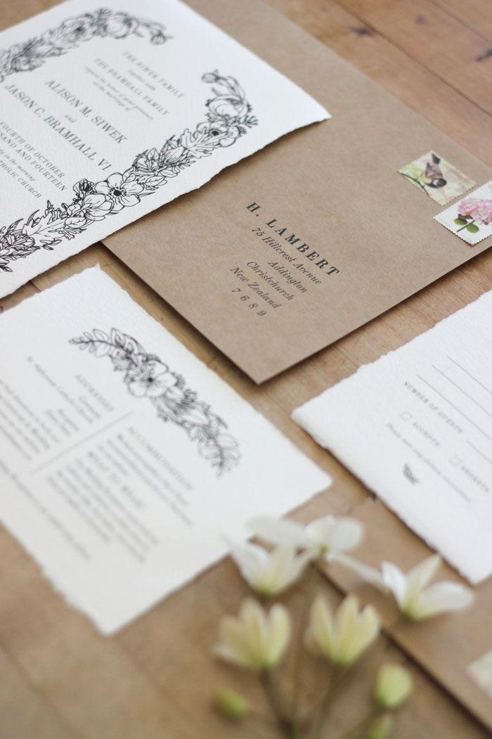 Just My Type Handmade Wedding Invitations Making Wedding Invitations Wedding Stationery Design