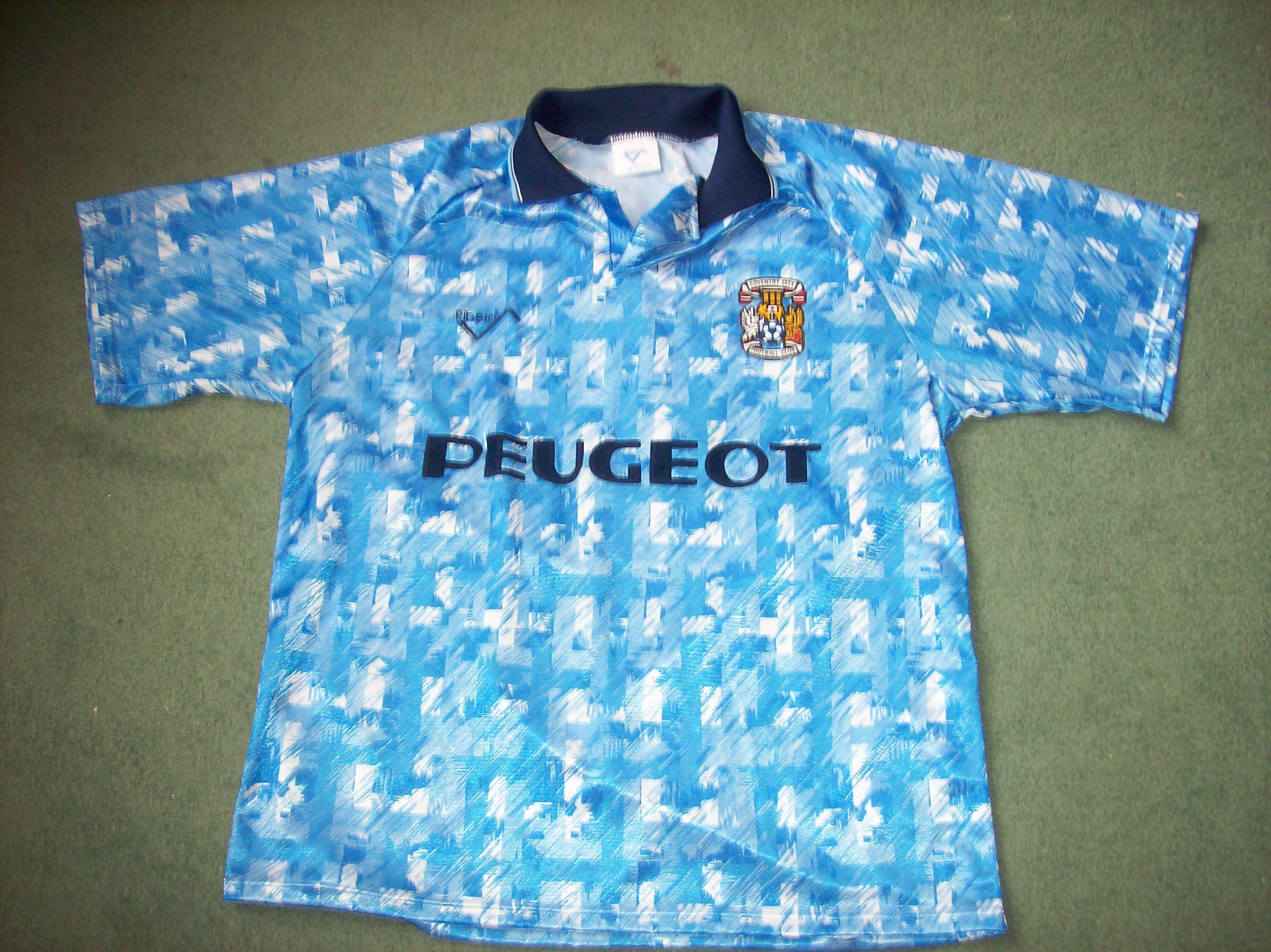 Coventry City Home Football Shirt From The 1992 93 Season