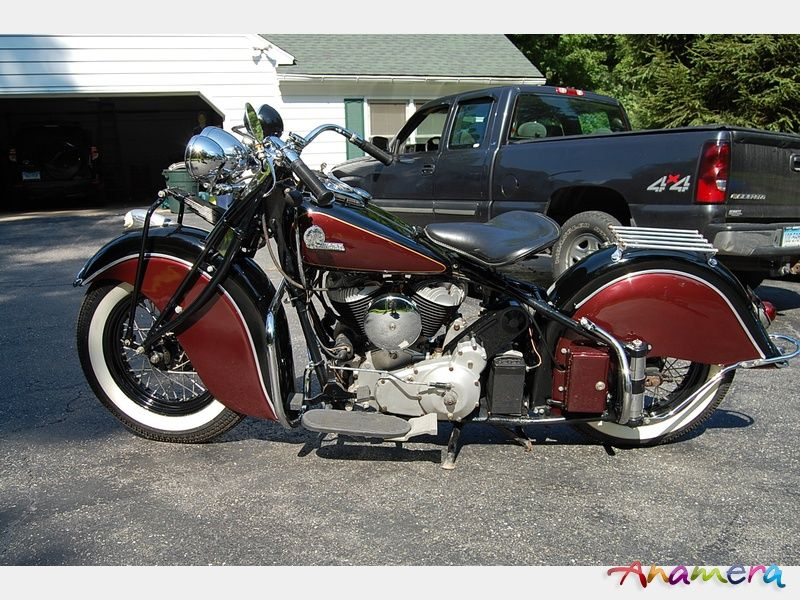 1945 Indian Chief Motorcycle For Sale Anamera Motorcycles For Sale Indian Chief Motorcycle