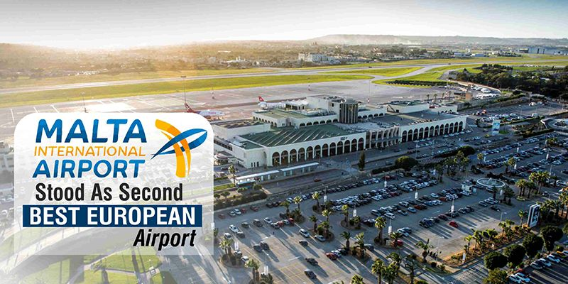 In The Airport Service Quality 2017 Awards Maltainternational Airport Has Placed Second Amongst Other European Airports Ranking 343 Airpor News Inter