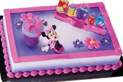 Remarkable Character Cakes Shopping Winn Dixie With Images Minnie Personalised Birthday Cards Veneteletsinfo
