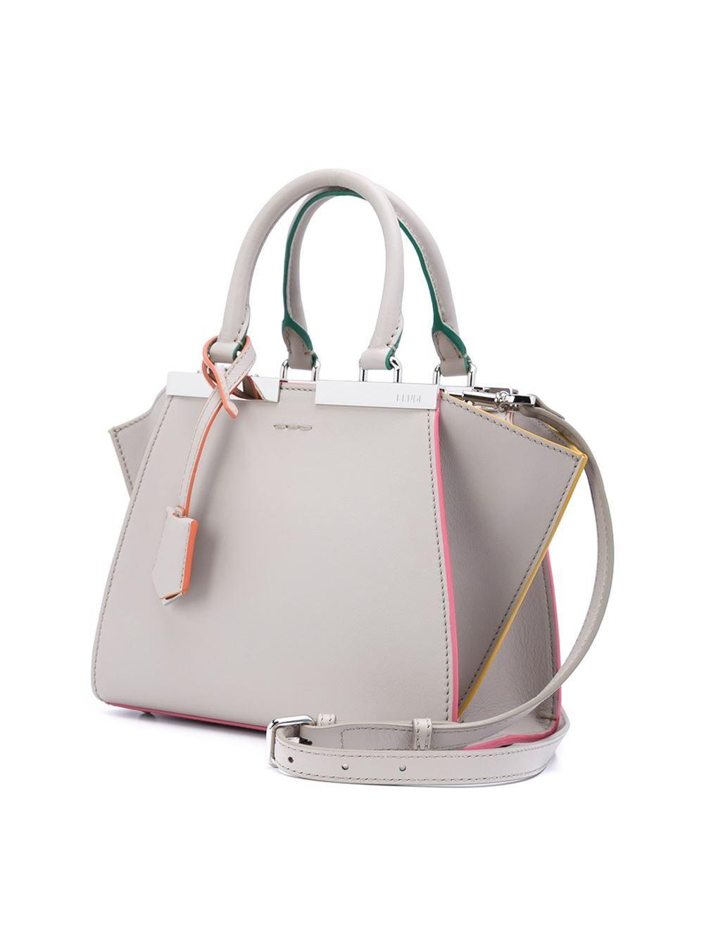 8fa57e33b514 Fendi Bolsa Mini  3Jours  de couro   All   Pinterest   Beaux sacs ...