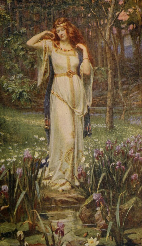 Freya and the Necklace | Painting by J Doyle Penrose. Photoe… | Flickr