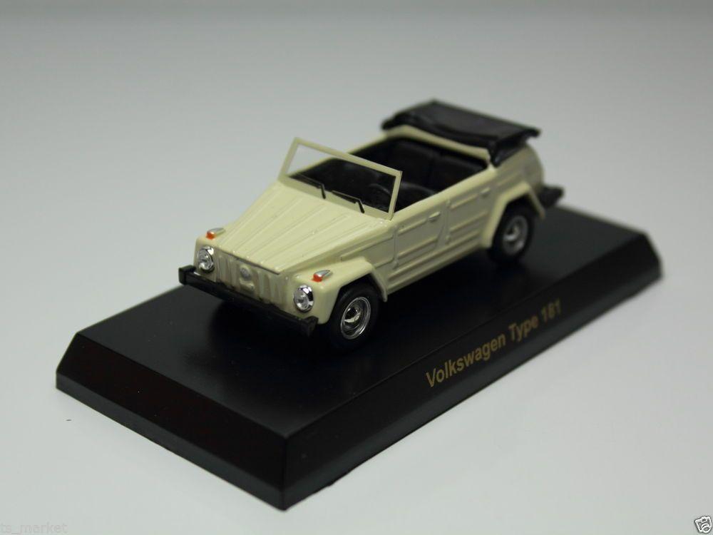 KYOSHO VOLKSWAGEN SERIES MINICAR COLLECTION TYPE 181 CREAM 1/64 JAPAN #Kyosho #Volkswagen