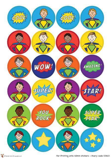 Teachers pet superhero certificates free classroom display resource eyfs ks1 ks2