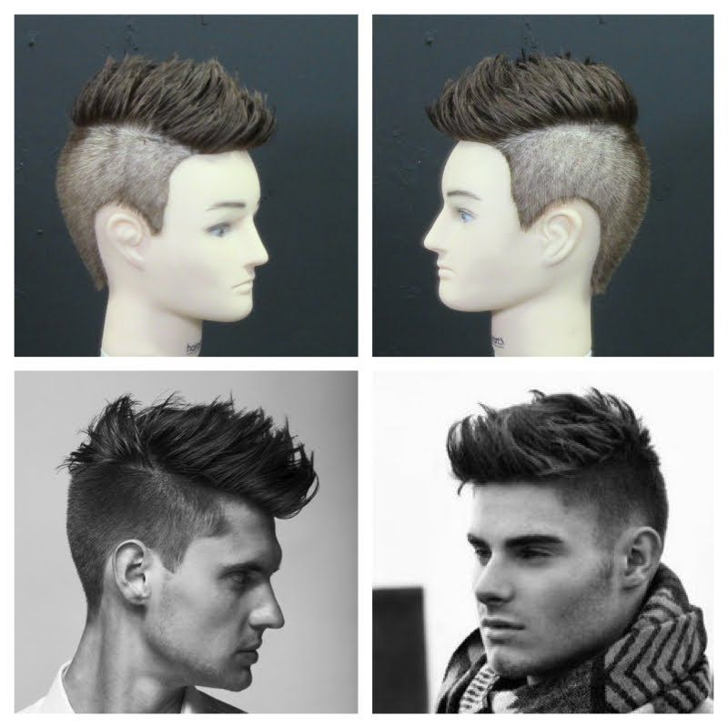 Mens Haircut Tutorial 2014 Hottest Trend Celebs Pinterest