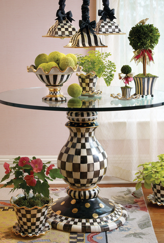 Ceramic creations gebrauchs keramik handbemalte m bel for Ausgefallene mobel