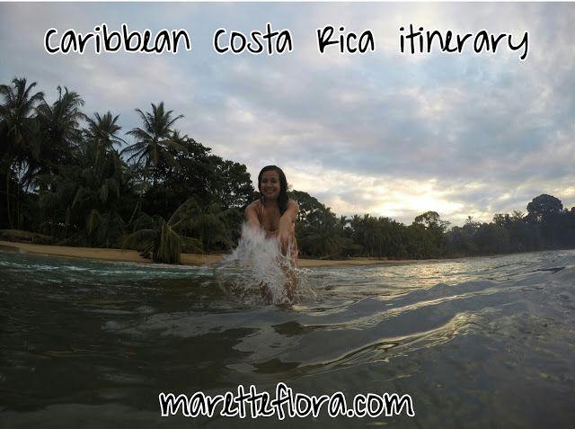 Caribbean Costa Rica Itinerary