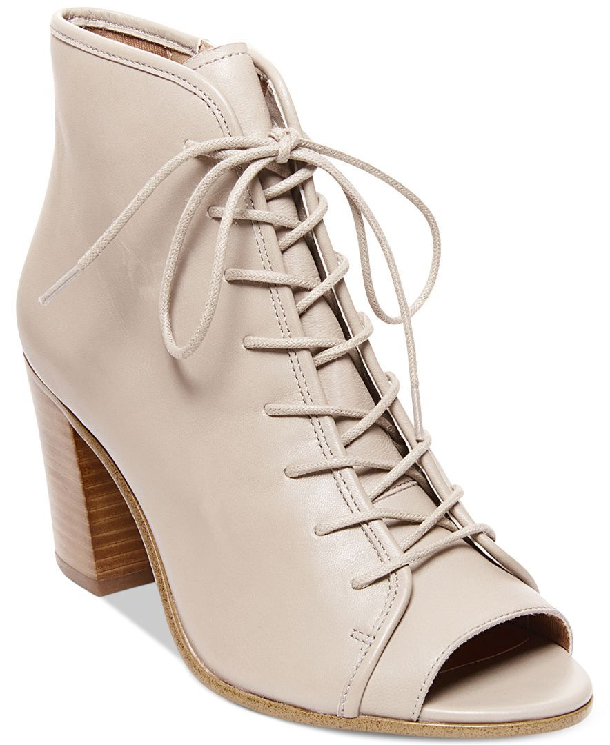 1855b5c8202 Steve Madden Neela Lace-Up Booties | Products | Shoe boots, Lace up ...