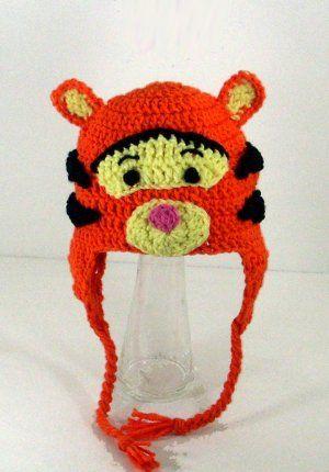 b2e47d4f56d Tigger Earflap Hat from Winnie the Pooh Disney