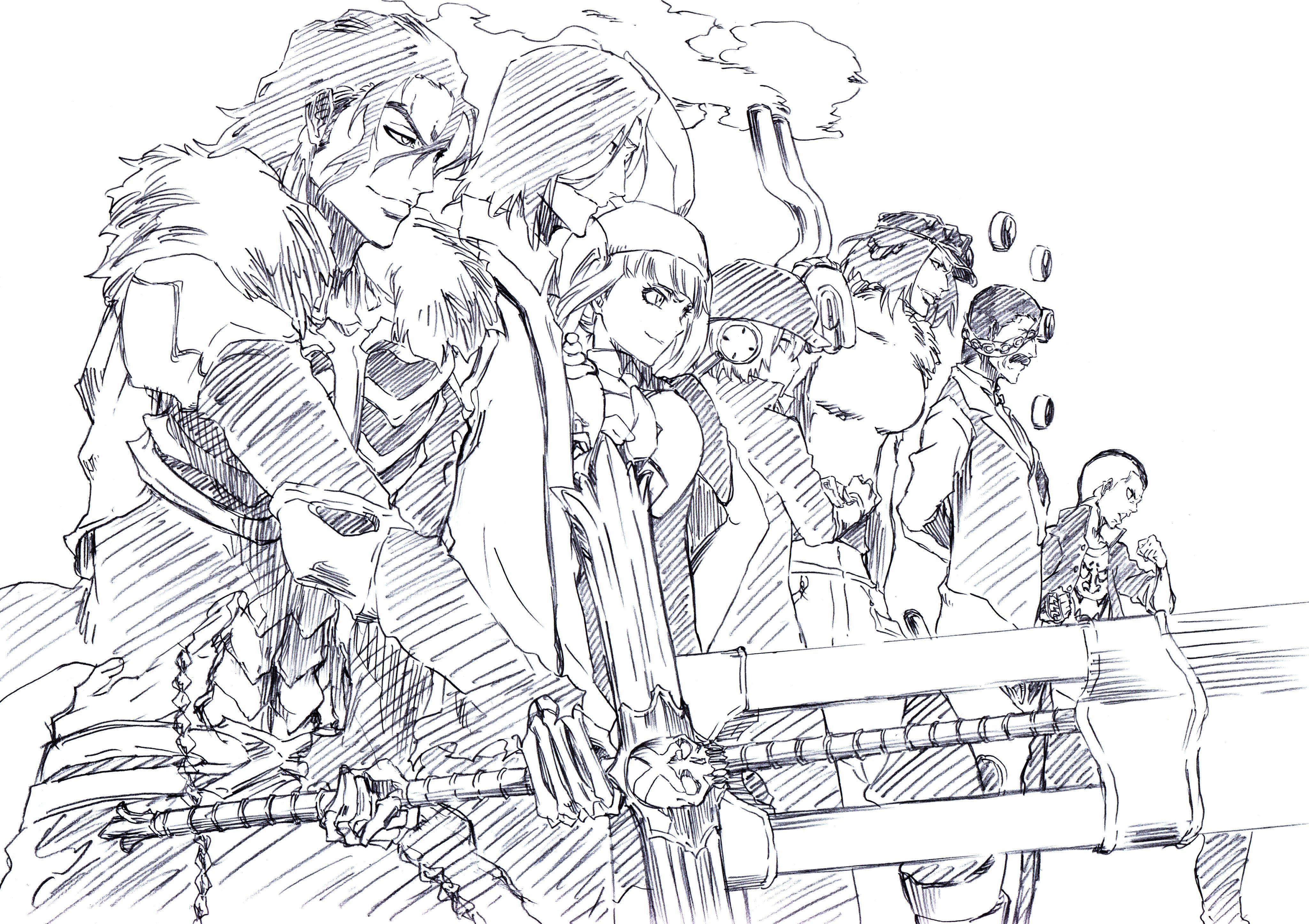 Pin By Mike Litoris On Bleach Stuff Bleach Anime Bleach Drawing Bleach Anime Art