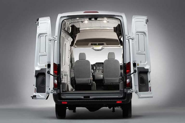 Rear Hinged 50 50 Cargo Doors Ford Transit Ford Van