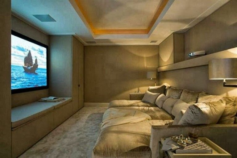 50 Comfy Small Movie Room Design Ideas For Your Happiness Family