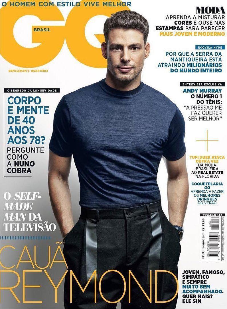 1606e00c1c Cauã Reymond en portada de GQ Brasil Enero 2017 en 2019