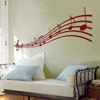 wall decals for teens | Badass Wall Decals u0026 Wall Stickers  Abstract  Music to my Eyes . & wall decals for teens | Badass Wall Decals u0026 Wall Stickers ...