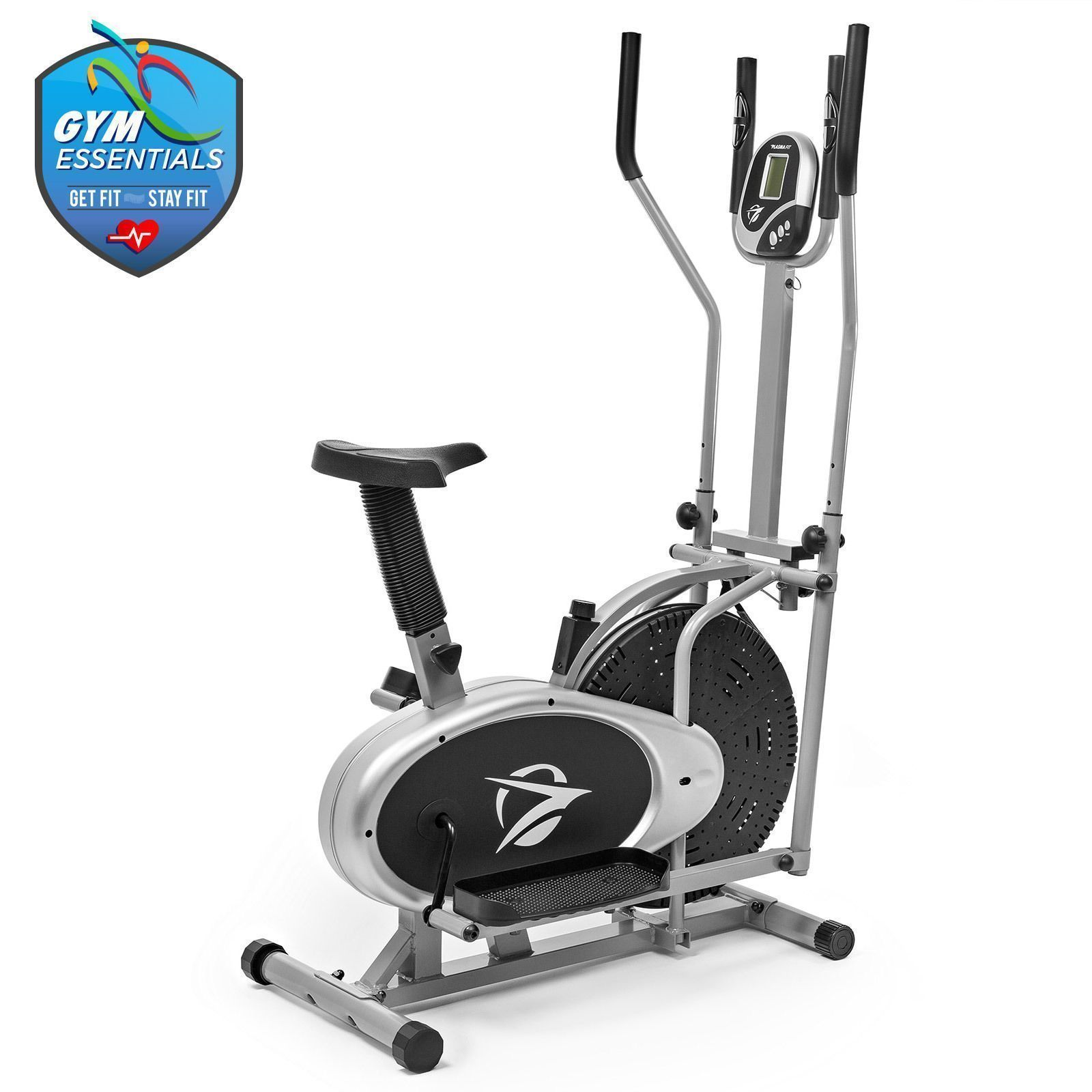 Details About Elliptical Machine Cross Trainer 2 In 1 Exercise