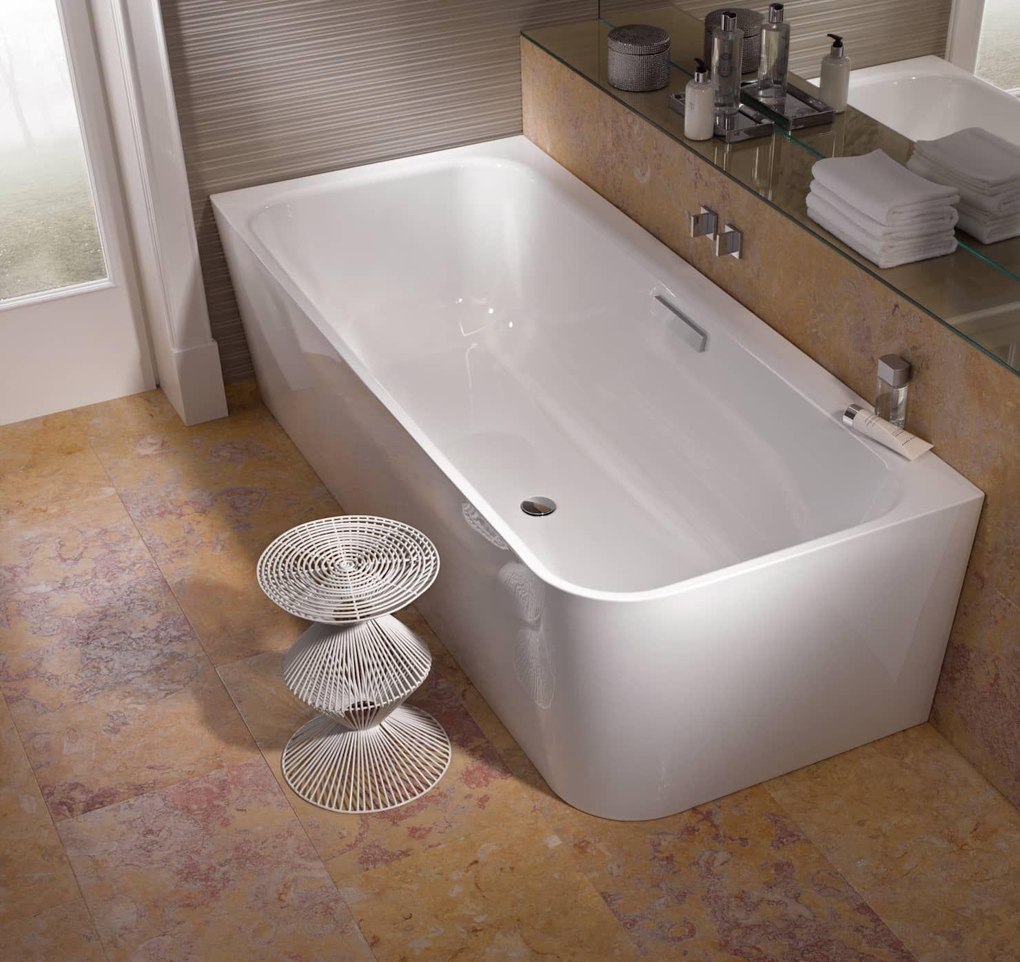 Betteart Jetzt Auch Als Wand Und Eckversion Modern Von Bette Gmbh Co Kg Modern Mit Bildern Kind Badezimmer Badezimmerideen Grosse Badezimmer